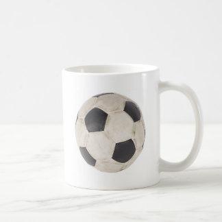Soccer Ball Soccer Fan Football Footie Soccer Game Basic White Mug