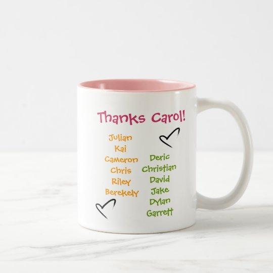 soccer-ball, soccer-mom1, CarolTeam Mum, Soccer... Two-Tone Coffee Mug