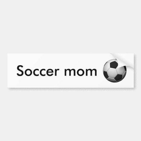 soccer-ball, Soccer mum Bumper Sticker