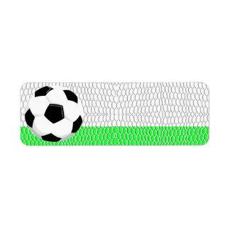 Soccer Ball Sport Label