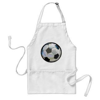 soccer ball standard apron