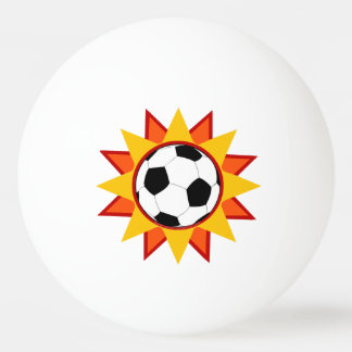 Soccer Ball Sunburst