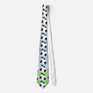Soccer Ball Sunny Day Tie