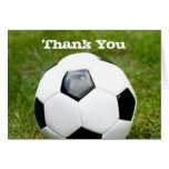 Soccer Ball Thank You Note Card