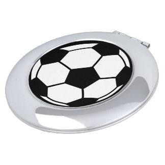Soccer Ball Vanity Mirror