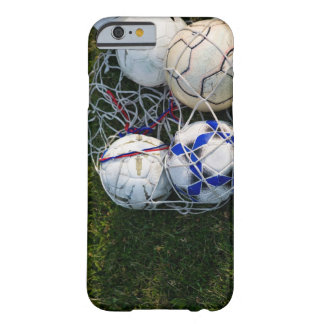 Soccer balls in net barely there iPhone 6 case