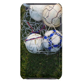 Soccer balls in net barely there iPod cases
