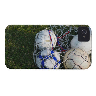 Soccer balls in net iPhone 4 Case-Mate cases