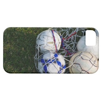 Soccer balls in net iPhone 5 cover