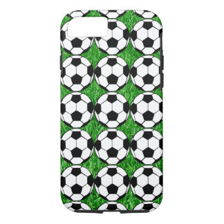 Soccer Balls On Lawn iPhone 8/7 Case