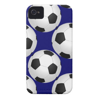 soccer balls pattern iPhone 4 case