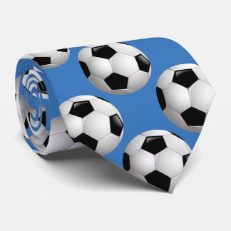 Soccer Balls Sportsman Tie