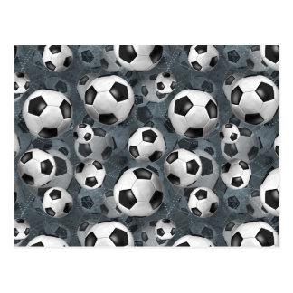Soccer Ballz! Postcard