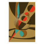 Soccer Becomes Art Soccer Ball Abstract Print