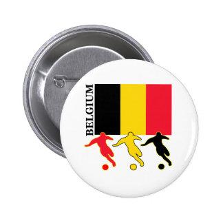 Soccer Belgium 6 Cm Round Badge