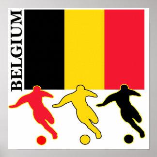 Soccer Belgium Poster