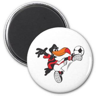 Soccer Bird Refrigerator Magnets