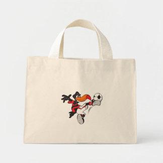 Soccer Bird Mini Tote Bag