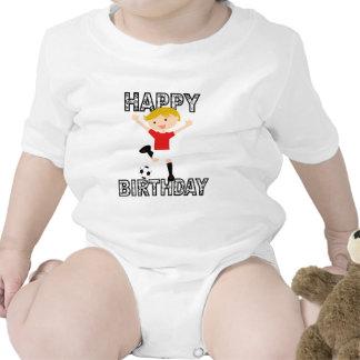 Soccer Birthday Boy 1 Red and White Shirt