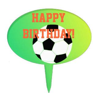"""Soccer Birthday"" Cake Picks"