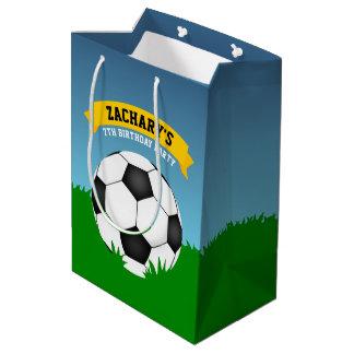 Soccer Birthday Medium Gift Bag