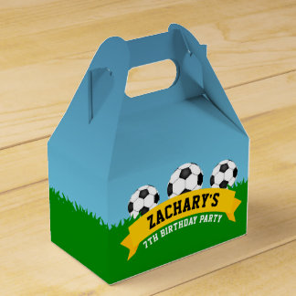 Soccer Birthday Party Favour Box
