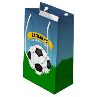 Soccer Birthday Party Small Gift Bag