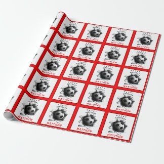 Soccer Birthday Wrapping Paper