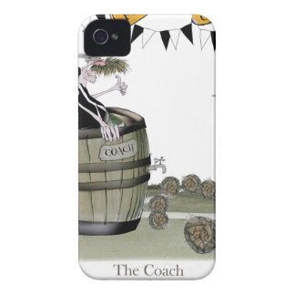 soccer black + white team coaching iPhone 4 Case-Mate cases