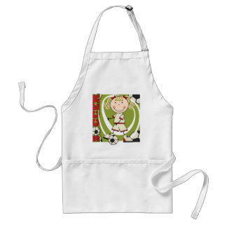 SOCCER - Blond Girl T-shirts and Gifts Apron