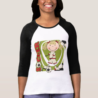 SOCCER - Blond Girl T-shirts and Gifts