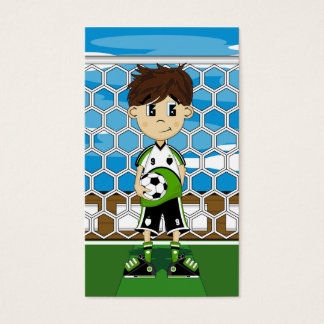 Soccer Boy Bookmark Business Card