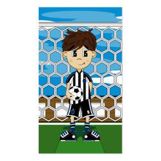Soccer Boy Bookmark Pack Of Standard Business Cards