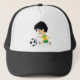 Soccer Boy Trucker Hat