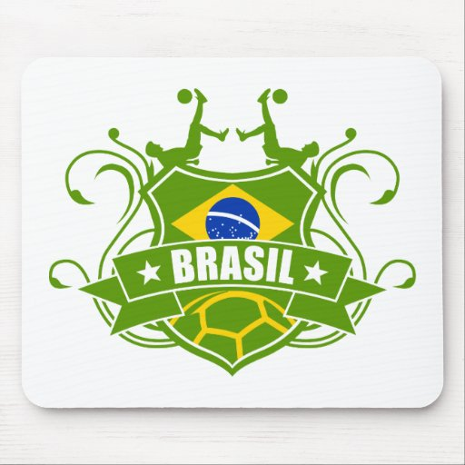 soccer BRASIL Mouse Pad