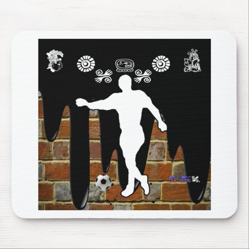 SOCCER BRICK BACKGROUND PRODUCTS MOUSE PADS