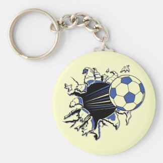 Soccer Burst T-shirts and Gifts Keychain