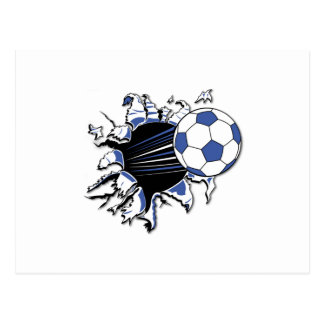 Soccer Burst T-shirts and Gifts Postcard