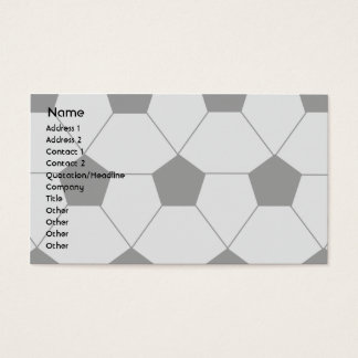 Soccer - Business Business Card