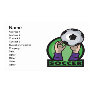 Soccer Business Card Templates