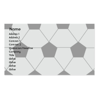 Soccer - Business Pack Of Standard Business Cards