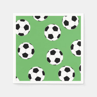 Soccer by The Happy Juul Company Disposable Serviette