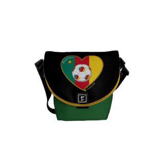 "Soccer ""CAMEROON"" Football Team, Soccer of Camerou Courier Bag"
