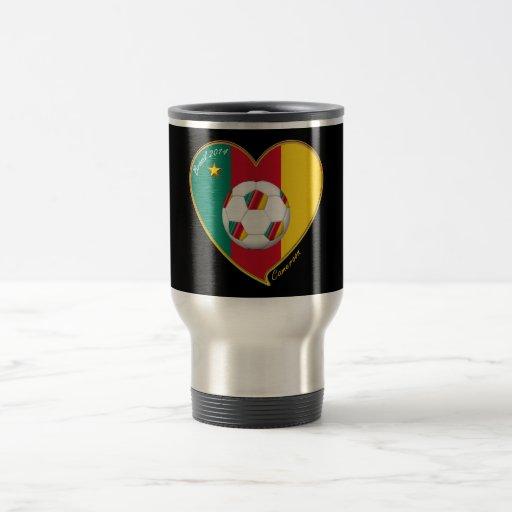 "Soccer ""CAMEROON"" Football Team, Soccer of Camerou Mugs"