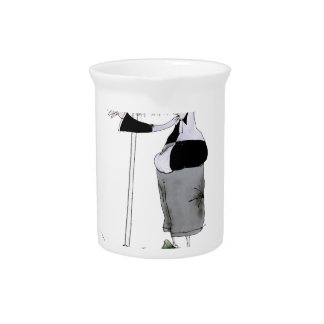 soccer centre forward black + white kit pitcher