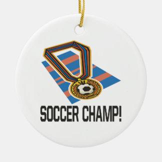Soccer Champ Ornament