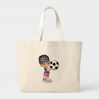 Soccer Champion Canvas Bag