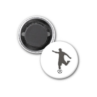 Soccer Chess TAG Forward (Attacker) - White-R Magnet
