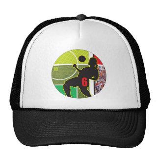 Soccer Chest Trap Design Cap