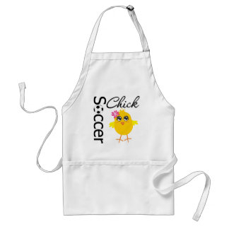 Soccer Chick Apron